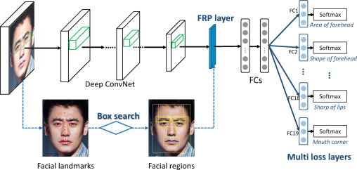 Computational face reader based on facial attribute