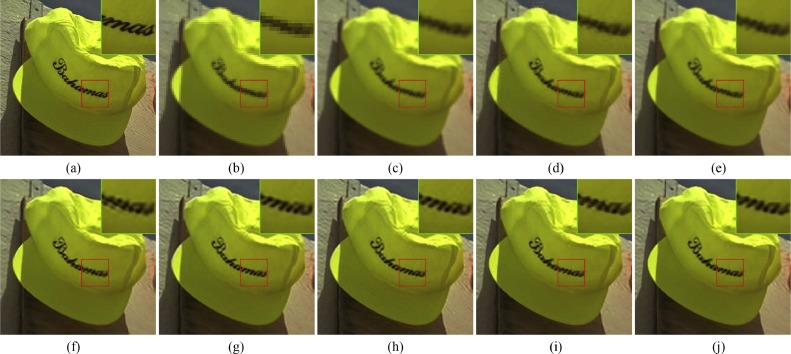 Multiscale self-similarity and sparse representation based