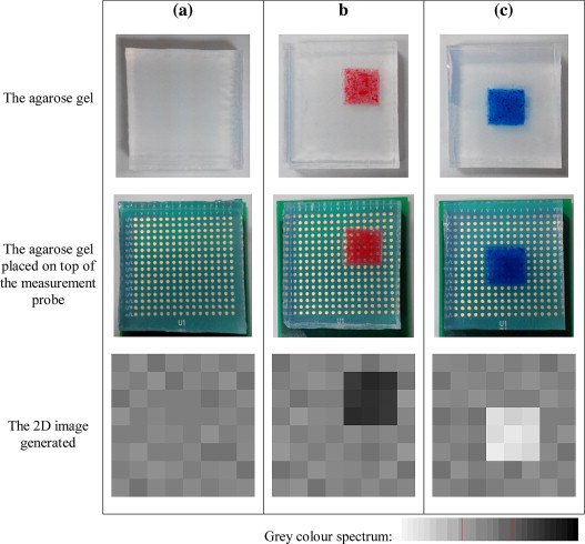 A non-invasive, bioimpedance-based 2-dimensional imaging