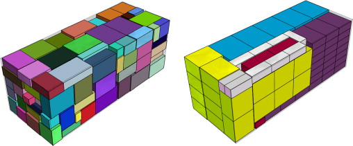 A biased random key genetic algorithm for 2D and 3D bin