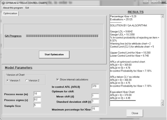 ATTRIVAR: Optimized control charts to monitor process mean