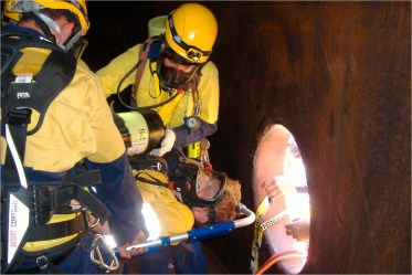 Confined space rescue: A proposed procedure to reduce the