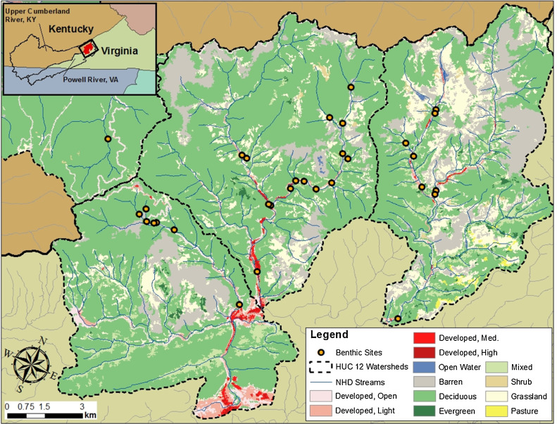 Habitat and water quality as drivers of ecological system health in