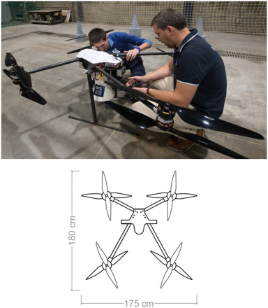 Feasibility study for drone-based masonry construction of
