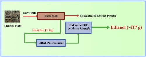 Enhanced ethanol production from glycyrrhiza glabra residue by graphical abstract ccuart Gallery