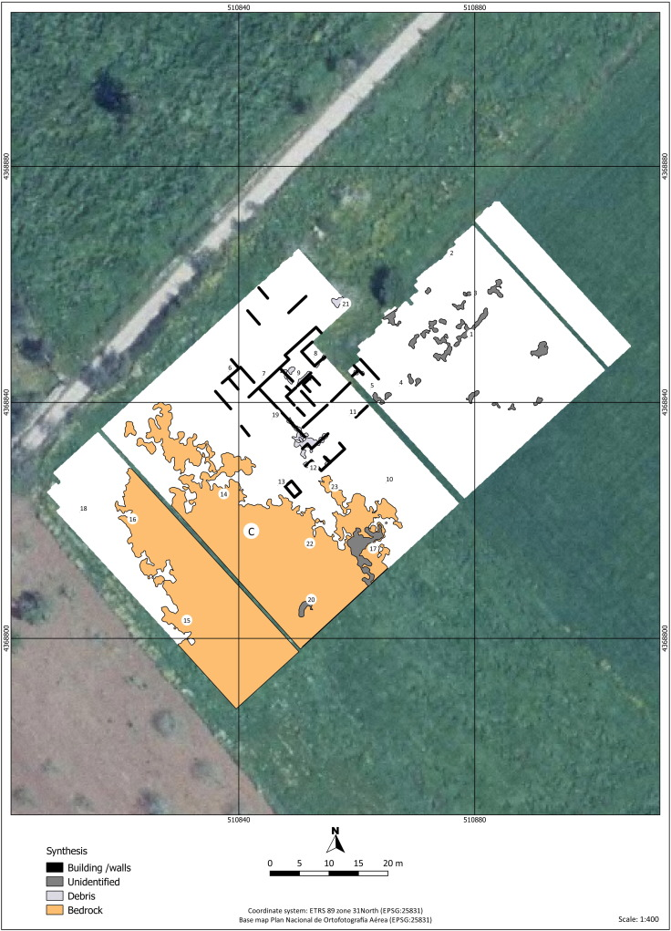 Geophysical survey of two rural sites in Mallorca (Balearic