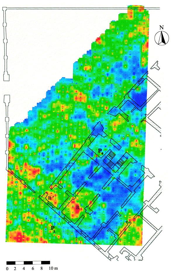 A ground-penetrating radar survey for archaeological