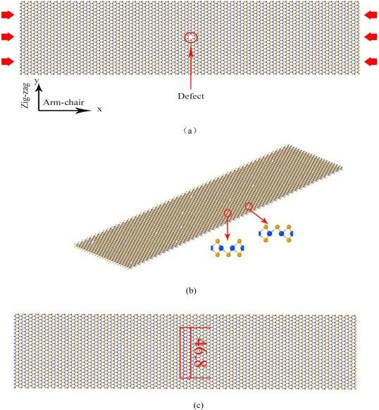 Molecular dynamics simulation on the buckling of single-layer MoS2