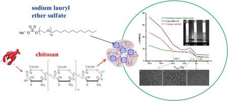 Interfacial and emulsifying properties of chitosan/sodium