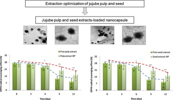 Extraction optimization and nanoencapsulation of jujube pulp