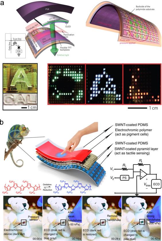 f815465a0b3d01 Recent advances in wearable tactile sensors: Materials, sensing ...