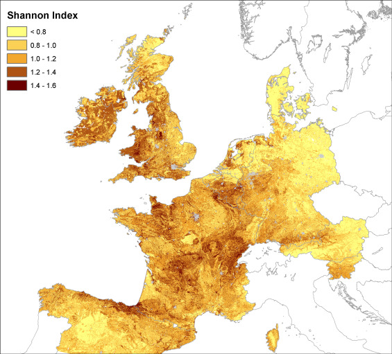 mapping earthworm communities in europe sciencedirect