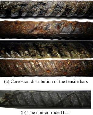 corrosion of the reinforcement and its influence on the residual