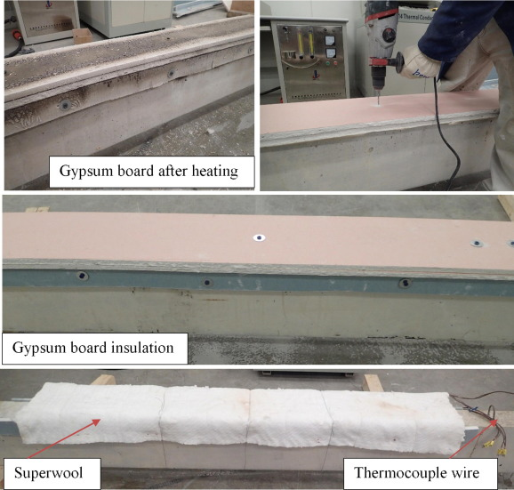 Behaviour of heat-damaged partially-insulated RC beams using NSM
