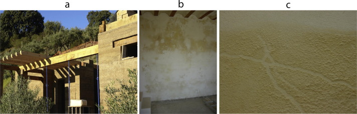 Optimization of lime and clay-based hemp-concrete wall formulations