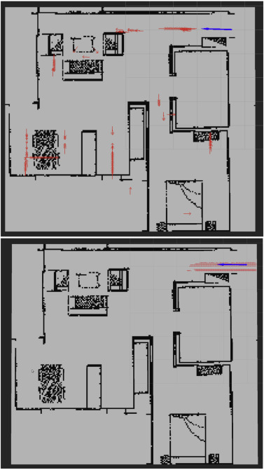 Octree-based localization using RGB-D data for indoor robots