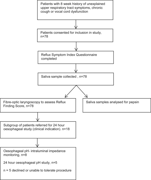 Detecting laryngopharyngeal reflux in patients with upper