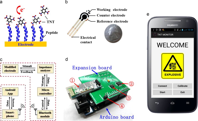 Smartphone-based portable biosensing system using impedance