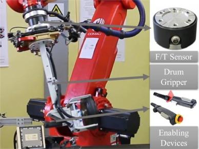 Seamless human robot collaborative assembly – An automotive case