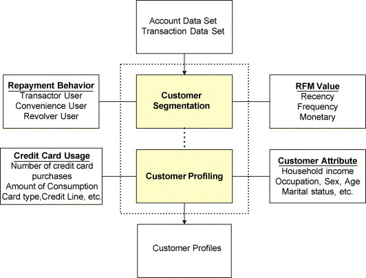 An integrated data mining and behavioral scoring model for