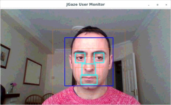 Evaluation of temporal stability of eye tracking algorithms using