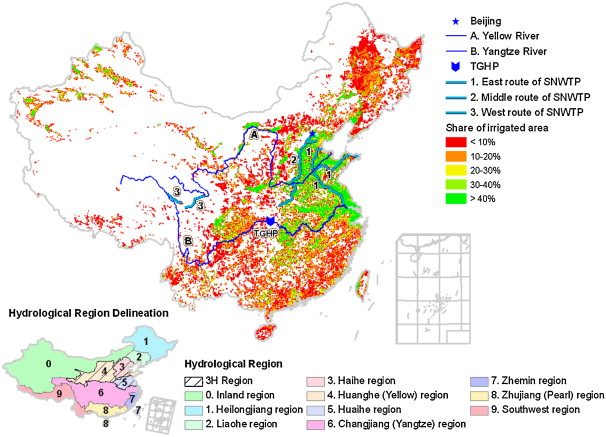 Water conservancy projects in China: Achievements