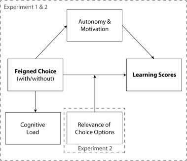 The autonomy-enhancing effects of choice on cognitive load