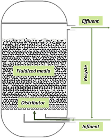 Applications of fluidized bed reactors in wastewater treatment – A