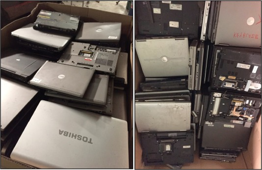 Repurposing end of life notebook computers from consumer