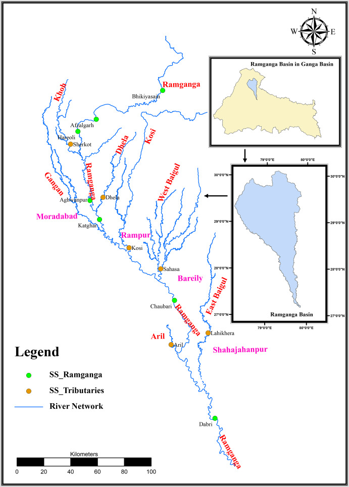 Spatial-temporal assessment of water quality and assimilative