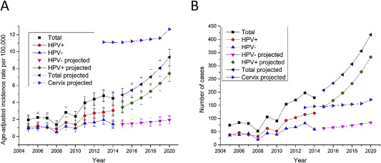 Hpv oropharyngeal cancer incidence, Study of human papillomavirus and oropharyngeal cancer