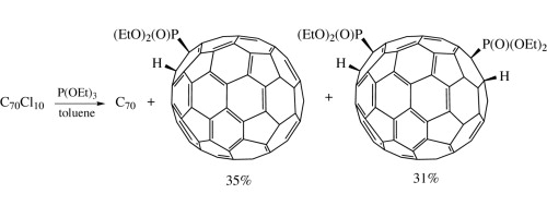 P 2000 Nhn.Radical Reaction Of C70cl10 With P Oet 3 Isolation And