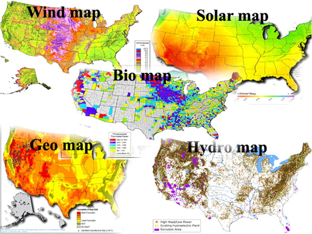 Analysis Of Renewable Energy Development To Power Generation In - Renewable energy map us