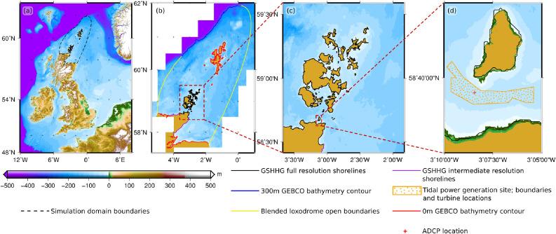 Efficient unstructured mesh generation for marine renewable