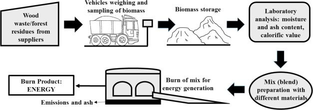 Evolution of the quality of forest biomass for energy