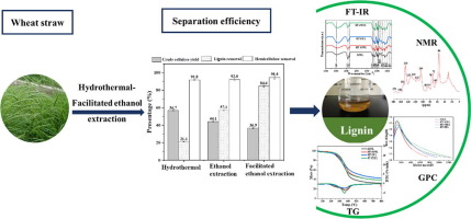 Wheat Straw Components Fractionation With Efficient Delignification By Hydrothermal Treatment Followed By Facilitated Ethanol Extraction Sciencedirect