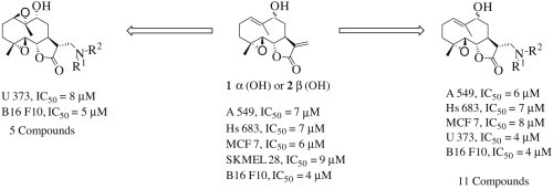 Synthesis and biological evaluation of 9α- and 9β