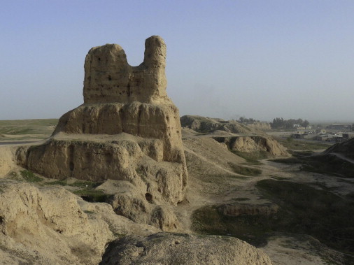Ghost town: The remains of the ancient city of Susa may increasingly look like…