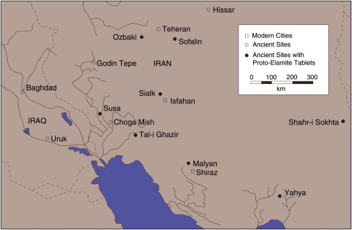 Ancient lands: The area of western Iran, where a writing system inspired by…