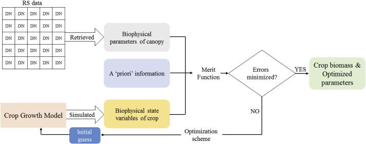 Estimation methods developing with remote sensing