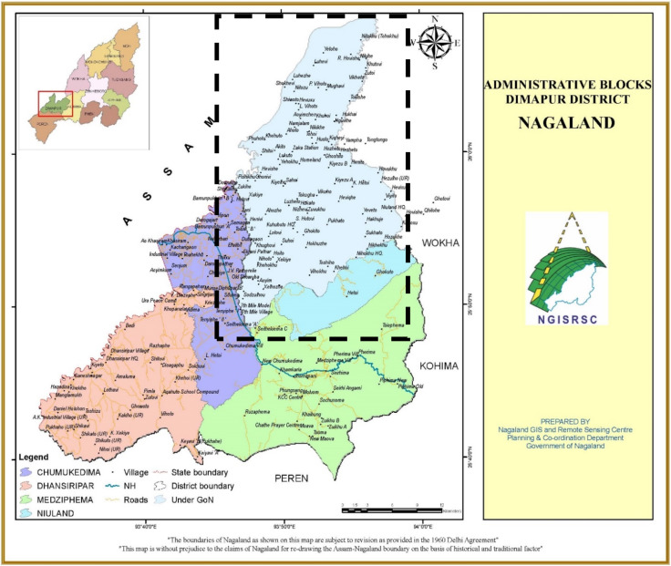 Cartographic conflicts within a union: Finding land for Nagaland in