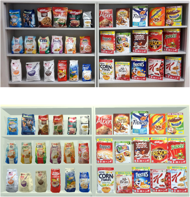 Consumers' food selection behaviors in