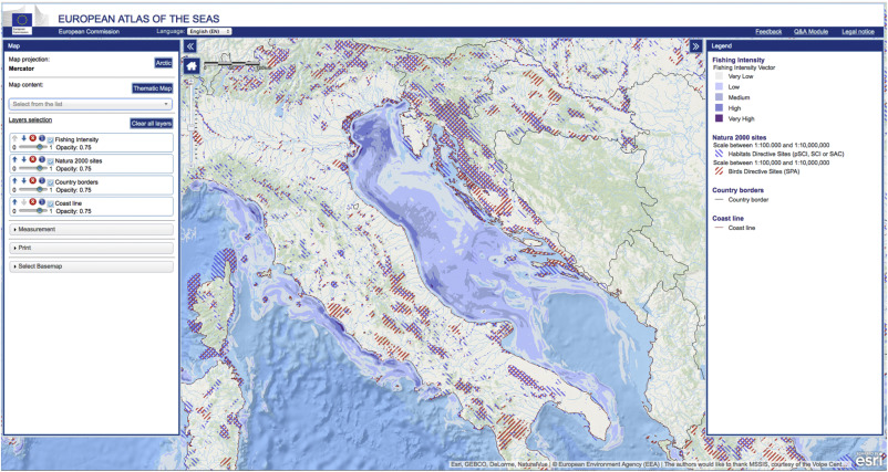 A supporting marine information system for maritime spatial