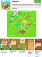 Herbopolis – A mobile serious game to educate players on herbal