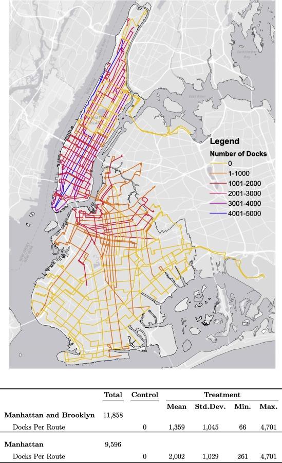 Mta Subway Map 101 2001.Sharing Riders How Bikesharing Impacts Bus Ridership In New York