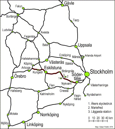 market effects of regional high speed trains on the svealand line Piko Track Plans download full size image