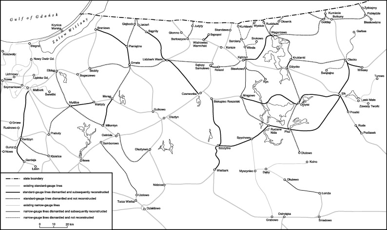 The Dismantling And Removal Of Railway Lines By Soviet Red Army