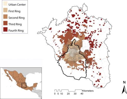 metropolitan mexico citys urban rings