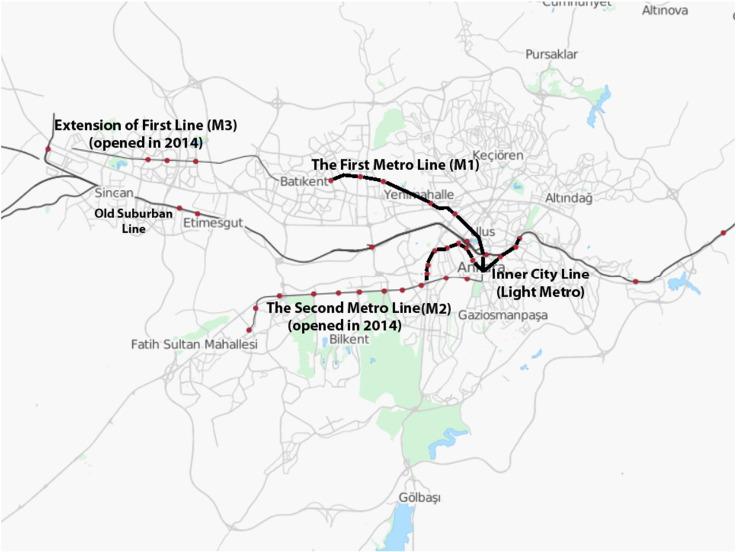 Urban rail operators in Turkey: Organisational reform in