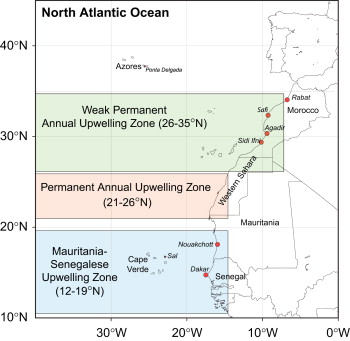 Spatial and temporal seasonal trends in coastal upwelling off download full size image ccuart Gallery